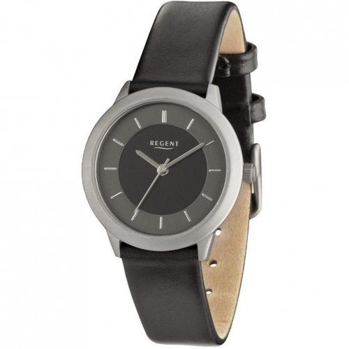 Uhr schwarz von Regent