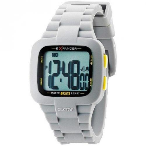 Digitaluhr offwhite von Sector