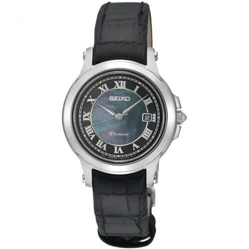Premier Uhr schwarz von Seiko