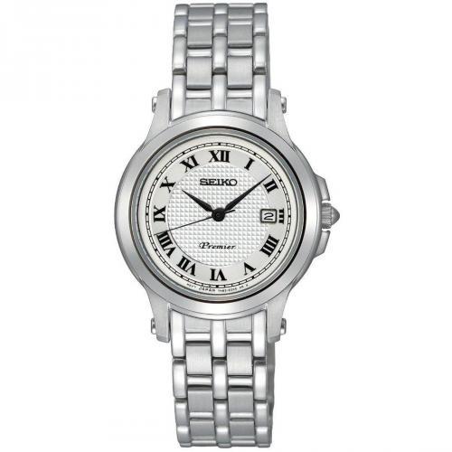Premier Uhr silber von Seiko