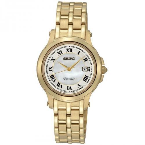 Premier Uhr weiß/gold von Seiko