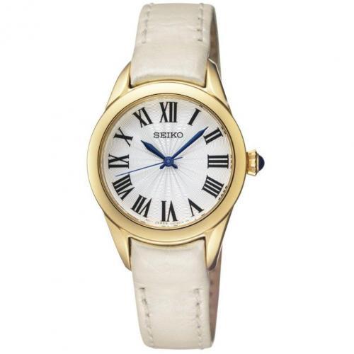 Uhr creme/gold von Seiko