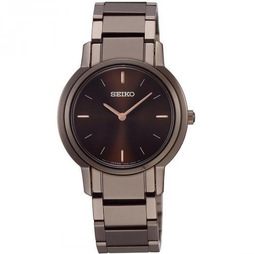 Uhr dunkelbraun von Seiko