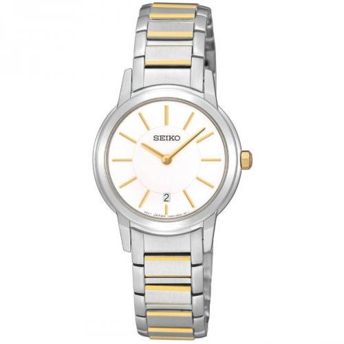 Uhr silber mit synthetischem Saphir von Seiko