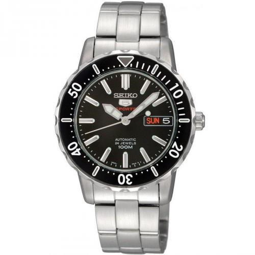 Uhr silber/schwarz von Seiko