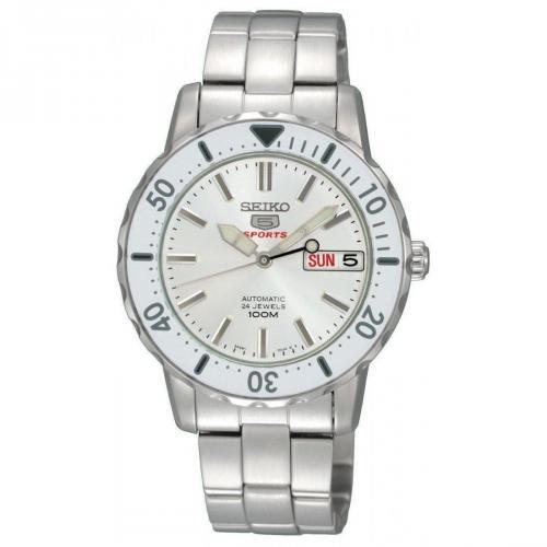 Uhr silber/weiß von Seiko