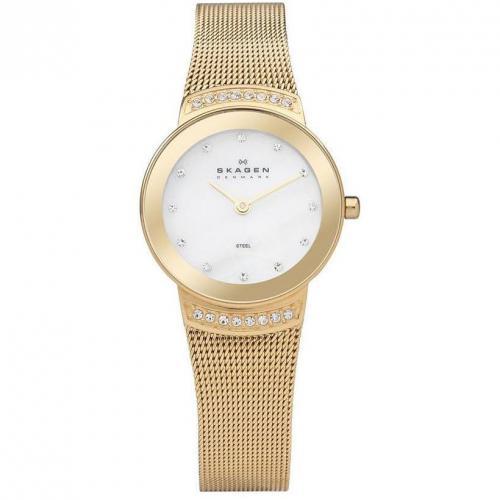 Skagen Damenuhr Slimline 812SGG  Miss Watch