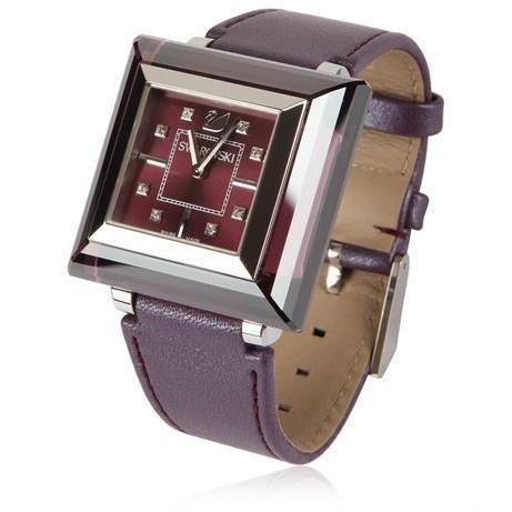 Rock 'N' Leichte Mini Armbanduhr Braun von Swarovski