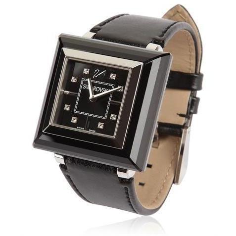 Rock 'N' Leichte Mini Armbanduhr Schwarz von Swarovski