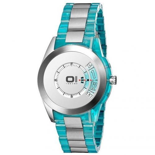 Uhr blau von The One
