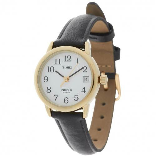 timex t2h341 uhr schwarz gold miss watch. Black Bedroom Furniture Sets. Home Design Ideas