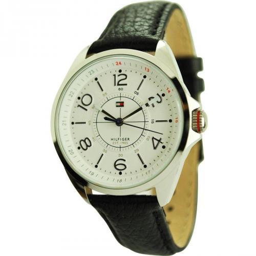 Uhr schwarz von Tommy Hilfiger