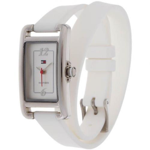 Uhr white mit weißem Ziffernblatt von Tommy Hilfiger