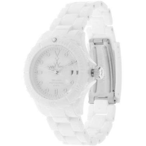 Uhr white mit beweglicher Lünette von ToyWatch