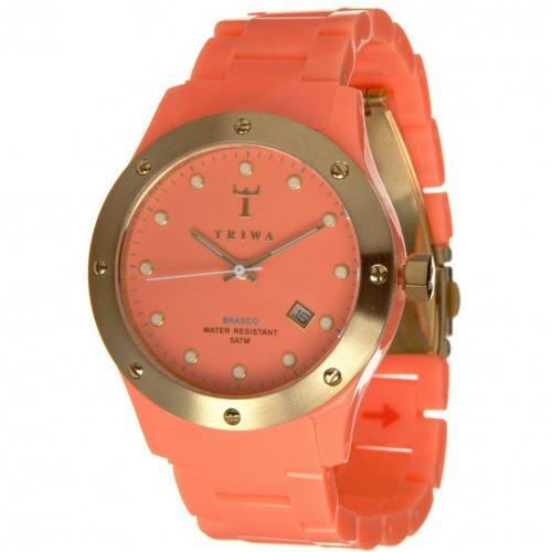 Brasco Sunrize Uhr coral von Triwa
