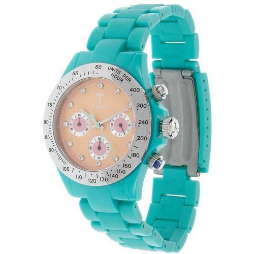 Chorniche Chronograph turquoise von Triwa