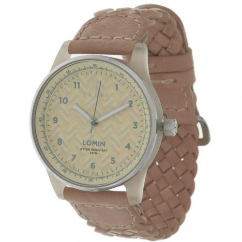 Lomin Uhr chevron beige von Triwa