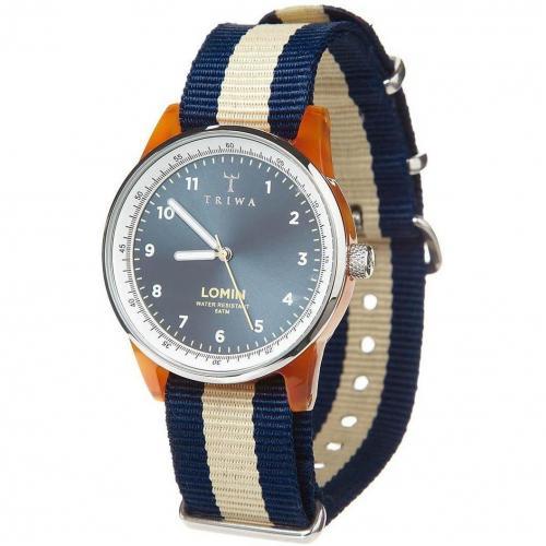 Umber Lomin Uhr blau von Triwa