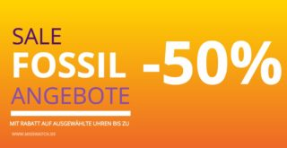 FOSSIL UHR SALE