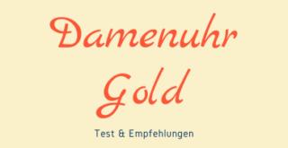 Gold Damenuhr