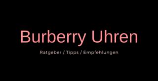 Burberry Uhren