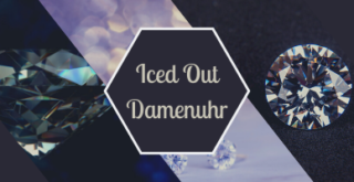 Iced Out Damenuhr